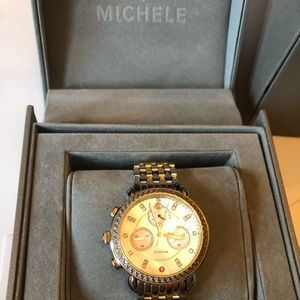 Michele Watch with Natural Diamonds